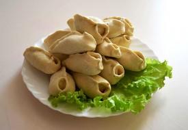 Манты «Узбекские» с  рубленой бараниной  (ручная лепка)