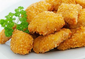 Наггетсы (филе куриное из белого мяса в панировке сырной)