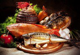 Рыба натурального копчения